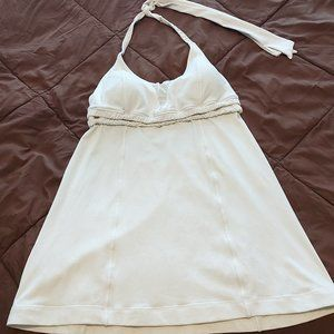 Lululemon White Baby Dolly Tank